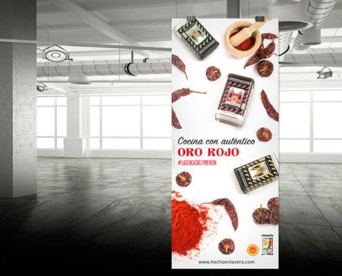 cartel-salon-gourmets-las-hermanas-pimenton-de-la-vera-marketing-gastronomia-elio-estudio-agencia-publicidad-diseño-sevilla