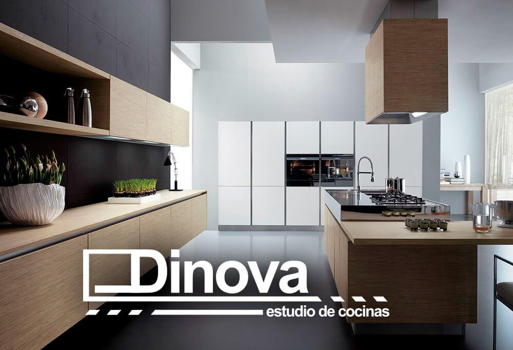 Dise o web dinova cocinas marketing online for Cocinas online