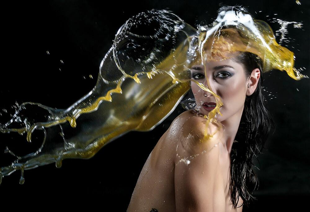 Fotografía Creativa ElioEstudio Splash Color