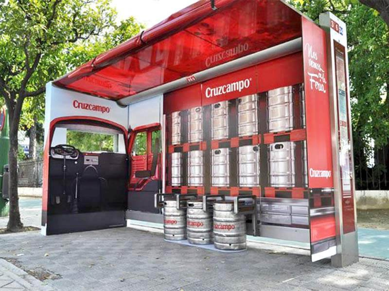 Marketing y publicidad en la Feria de Abril Cruzcampo