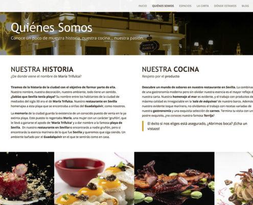 Diseño web Maria Trifulca