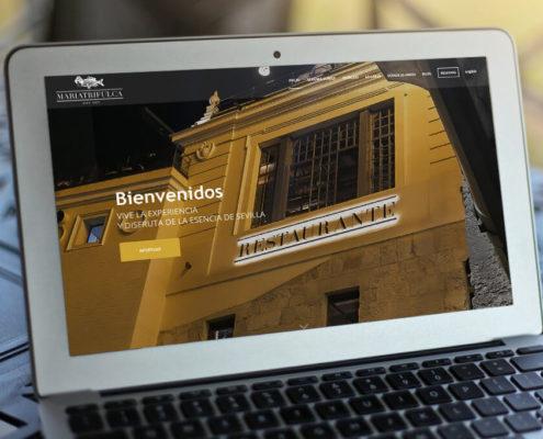 Diseño web restaurante Sevilla