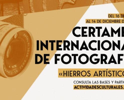 """Certamen Internacional de Fotografía """"Hierros Artísticos"""""""