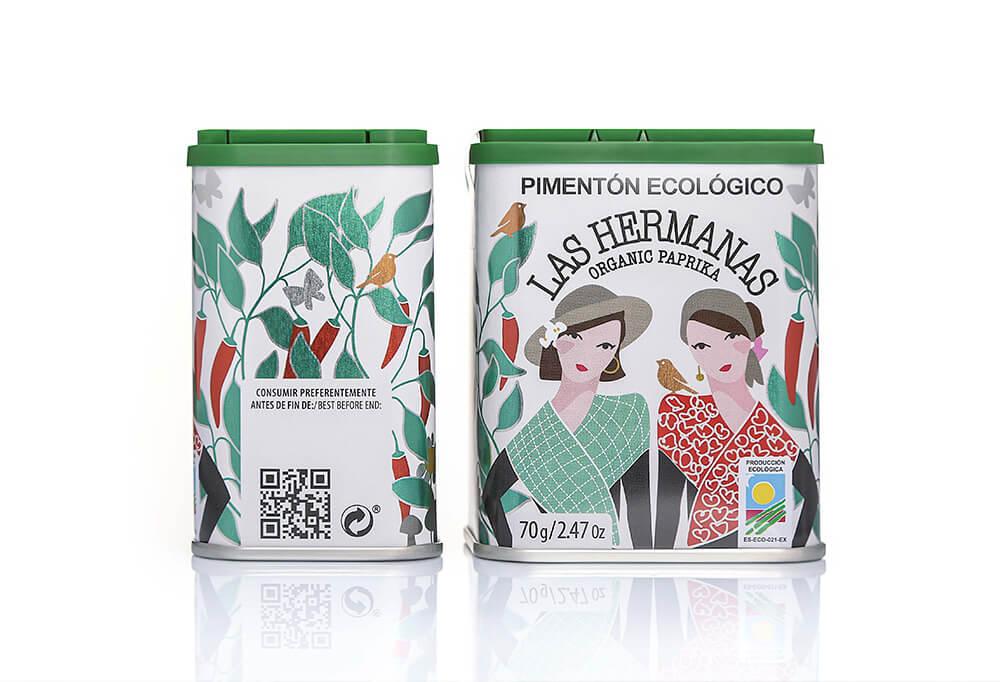 Pimentón de la Vera Las Hermanas Ecológico