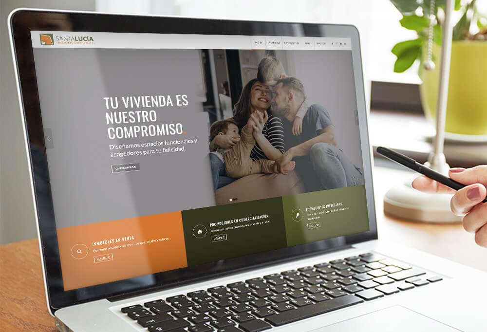 Diseño web Santa Lucía