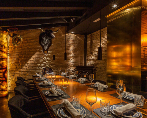 Fotografía de espacios para La Casa de María restaurante