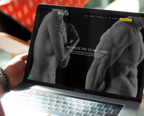 Diseño web para Clínica Mallen