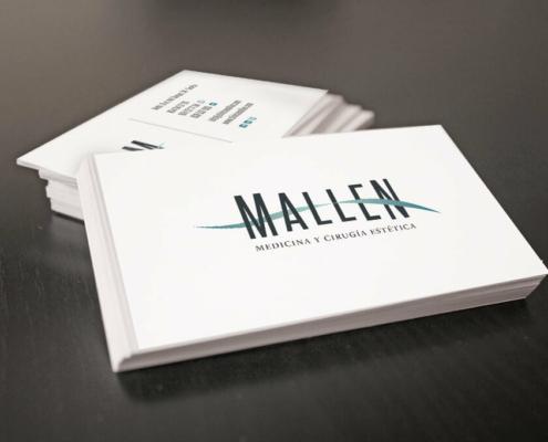Diseño gráfico Clínica Mallen